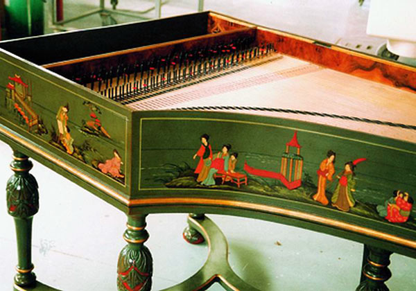 German HarpsichordHandheld Harpsichord